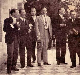 Les élèves de Paderewski à Riond Bosson