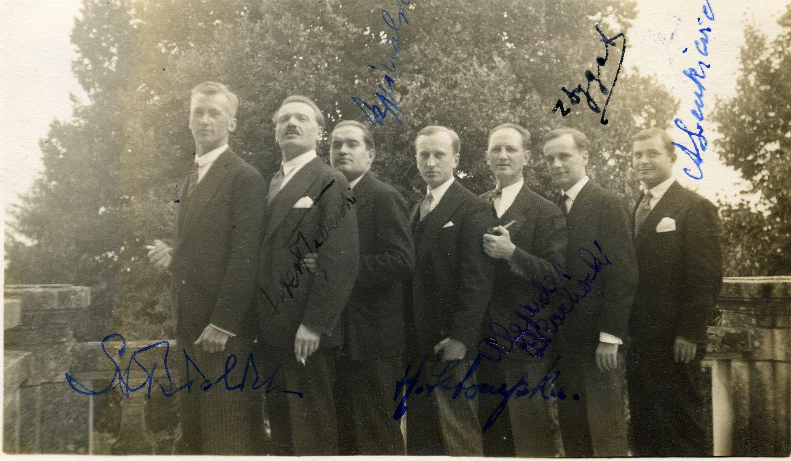 Eté 1929 à Riond Bosson